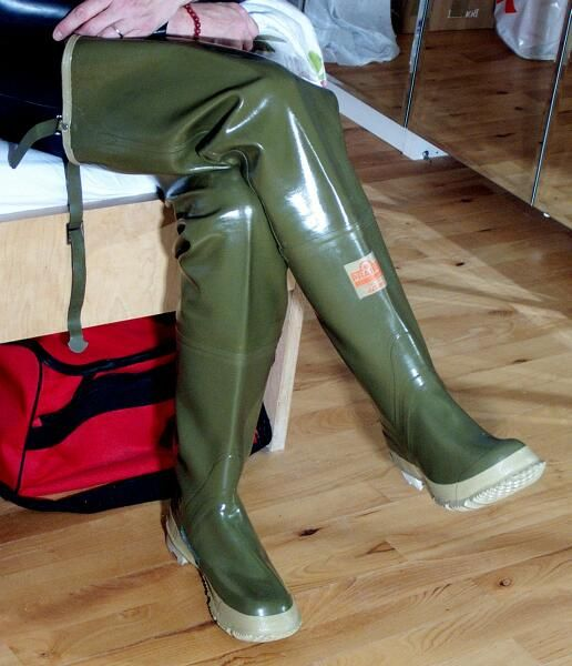 Erotic hip boots