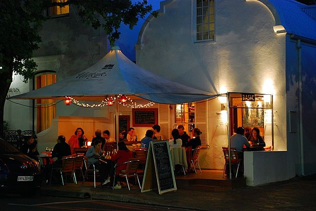Basic Bistro in Stellenbosch