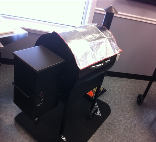 Insulated Thermal Cover For Traeger Grill Lil Tex Bbq070