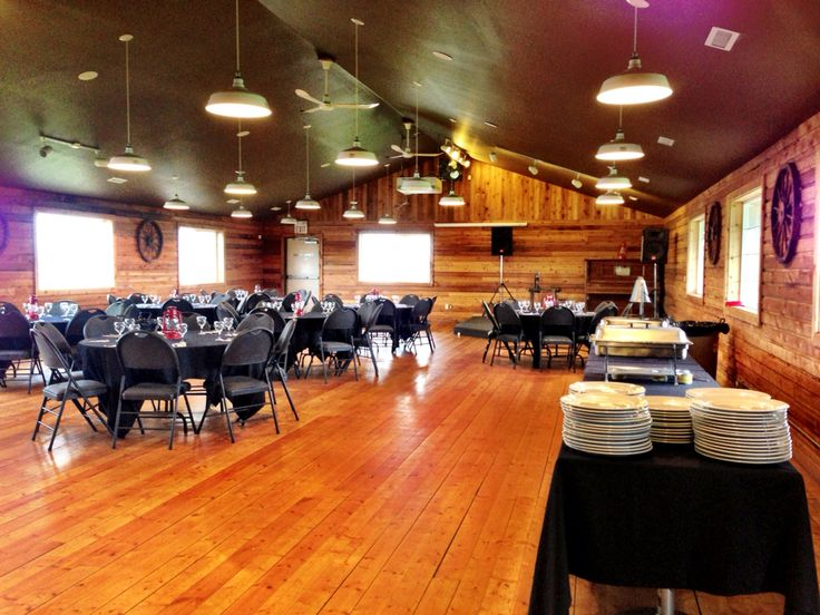 Western Hall for your event, wedding, or meeting, etc.
