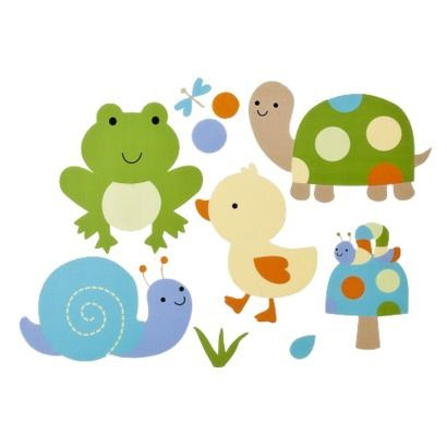 Tiddliwinks In The Pond Wall Decals-target online only