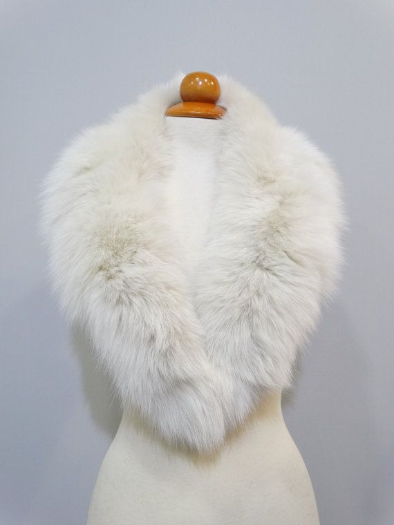 Fur CollarWoman CollarSpecial for Leather by FilimegasFurs on Etsy