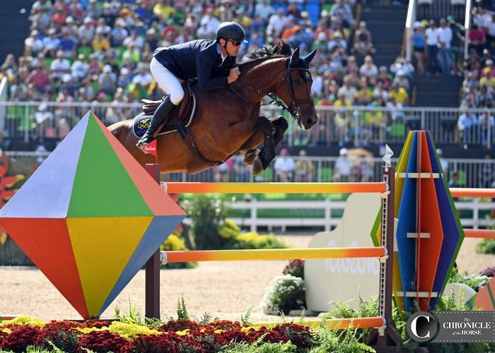 Peder Fredricson and All In earned individual silver for Sweden. 2016 Rio Olympic Games - Individual Show Jumping Final Photos & Video | The Chronicle of the Horse