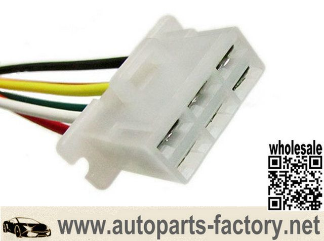 longyue factory sale Alternator Repair Connector 6 pin female socket wiring harness