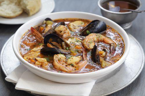 Tuscan Seafood Stew (Cacciucco Livornese)
