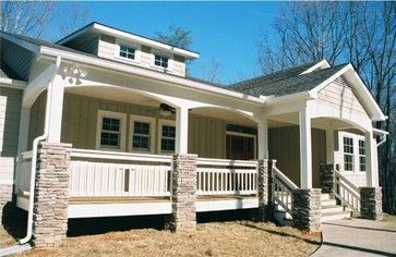 Craftsman - traditional - exterior - other metro - A.T. Besecker Construction Inc., Windsor Windows