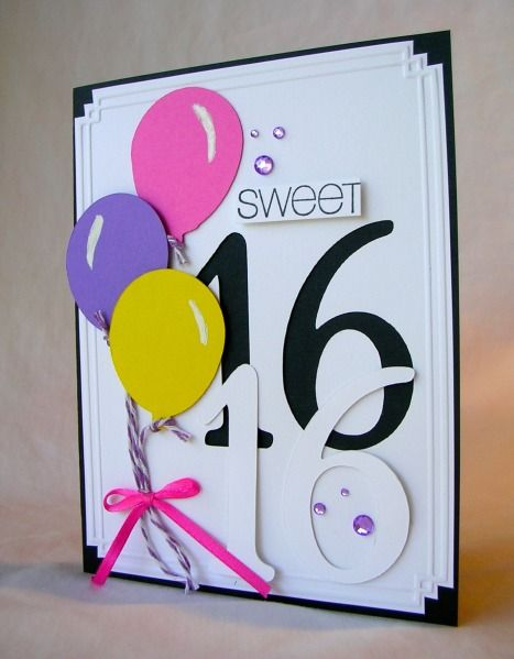 16 best images about sweet 16 on pinterest sweet sixteen money sweet 16 by pam mackay cards and paper crafts at splitcoaststampers bookmarktalkfo Images