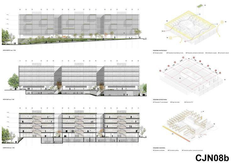 Galería de Presentan el diseño ganador del futuro complejo judicial de Necochea en Argentina - 18