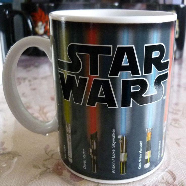 Star Wars Mug Lightsaber Heat Color Change (deal)