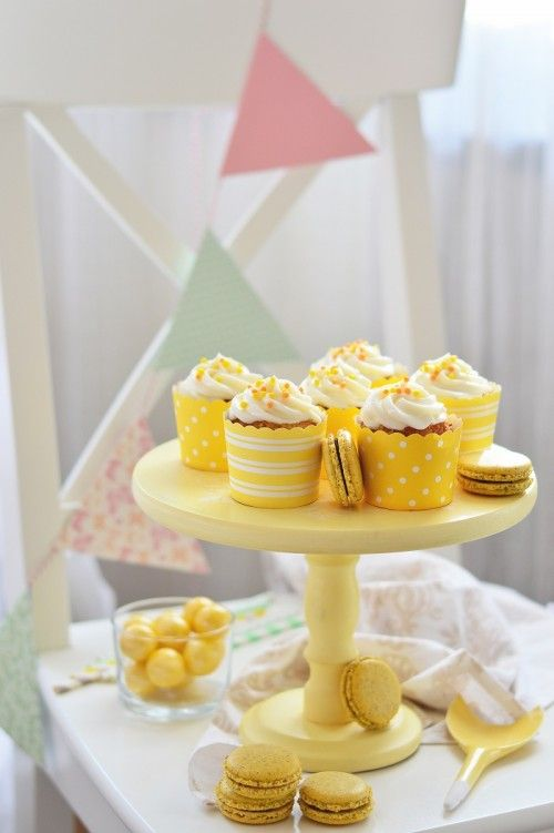 Citromos cupcake