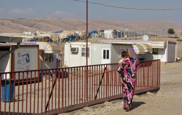 """La Caja de Pandora: La """"suerte"""" de las refugiadas sirias en Iraq"""
