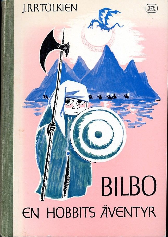 """J.R.R Tolkien's """"The Hobbit"""" illustrated by Tove Jansson (1962)"""