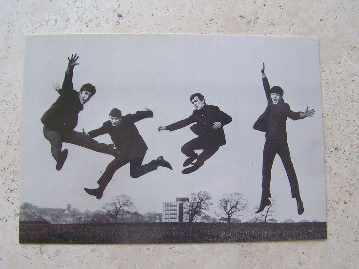 Vintage Beatles Postcard Rock Group Beatles Photo Postcard 1989 Apple Corps Unused John Paul George Ringo Fab Four by cynthiasattic on Etsy