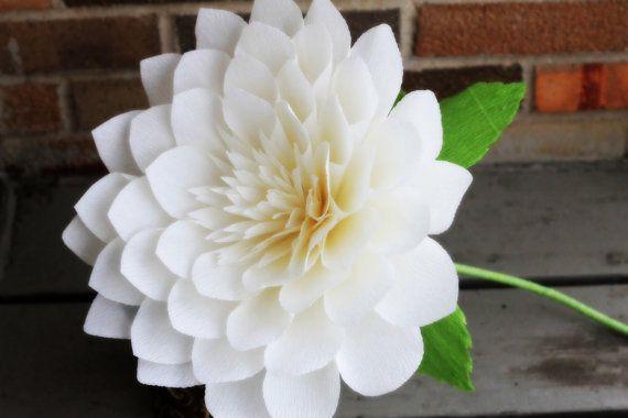 Große Papier Dahlie, riesige Papier Blume Riesen dahlia