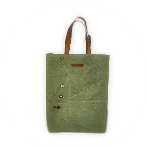Large tote bag canvas tote bag shoulder bag reusable bag