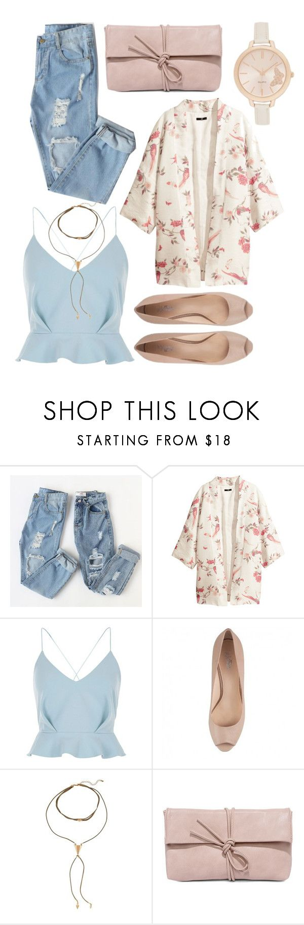 """Janet"" by goingdigi ❤ liked on Polyvore featuring H&M, River Island and LULUS"