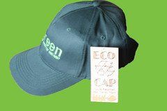 GPC Bottle Green 100% Recycled custom cap with embroidered GPC logo on front. Show off your support of the green party in style with this cap and keep the sun o
