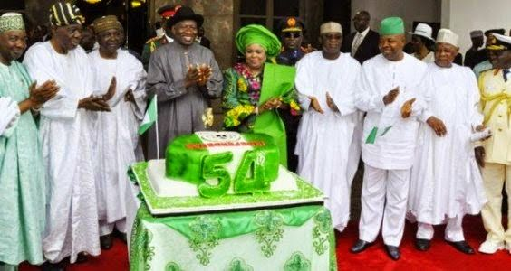 Photos from Nigeria's Independence celebration in ...