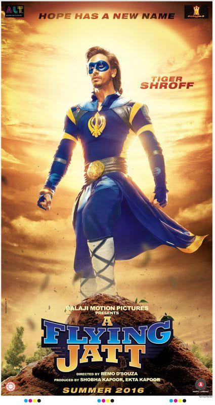 New Hindi Movei 2018 2019 Bolliwood: Poster Of Bollywood Movie A Flying Jatt 2016 Official