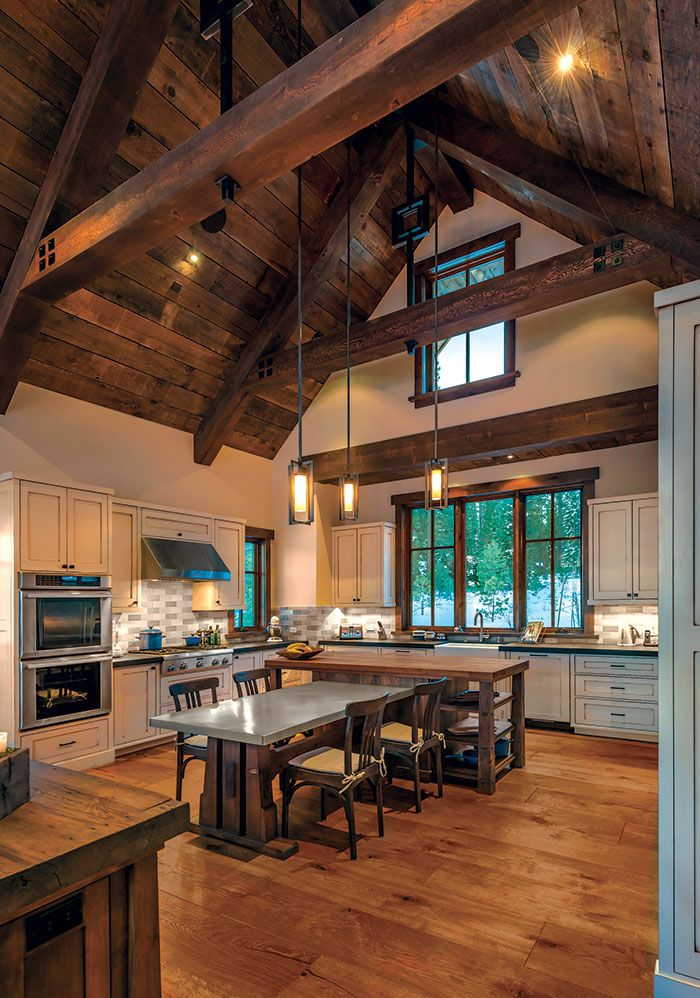 A Pond Side Home In Truckee Mountain Living Barn House