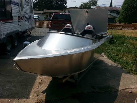 Emperor 10ft Mini-Wee aluminum jet boat test 1 2 and 3 - YouTube