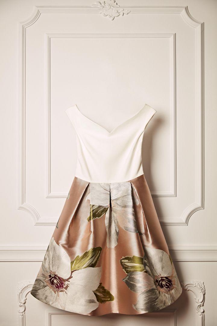 0cf653d12 Ted Baker VALTIA Chatsworth off-shoulder dress
