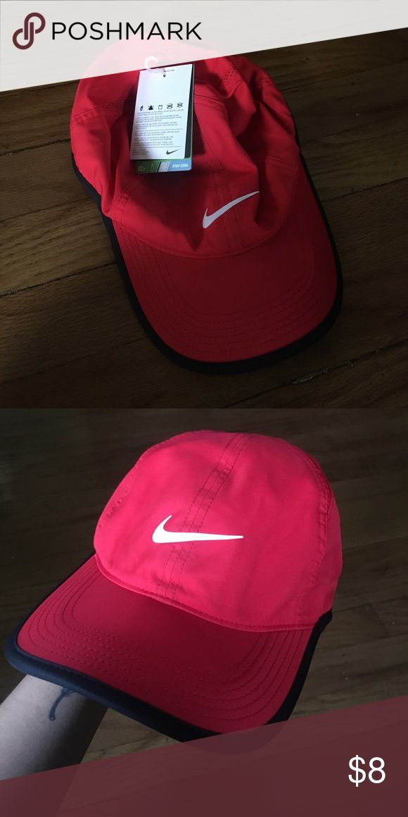 Red Nike Hat Never worn, with tags Nike Accessories Hats