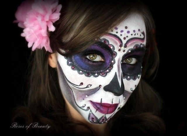 17 best images about katrina on pinterest bristol santa muerte and sugar skull makeup. Black Bedroom Furniture Sets. Home Design Ideas