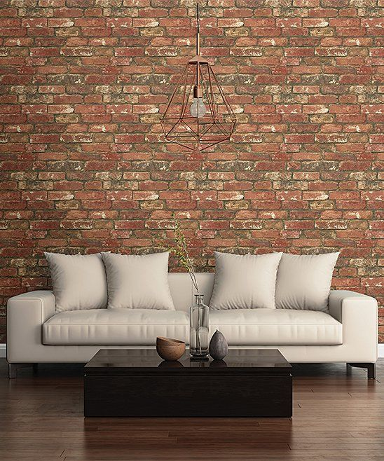 West End Brick Peel Stick Wallpaper Decal For My Home Ideas
