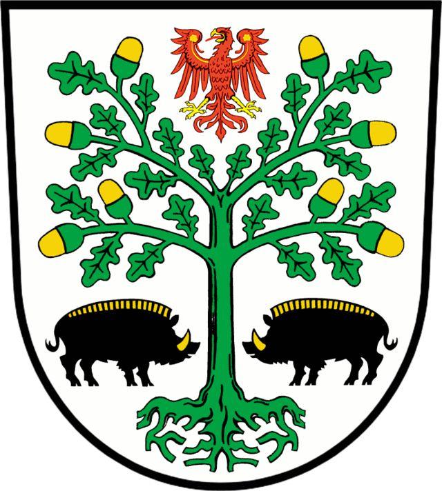 Coat of Arms Eberswalde. Eberswalde es un municipio del distrito de Barnim, en…