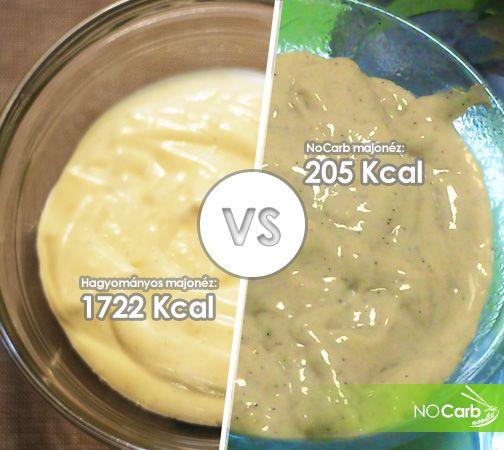Hagyományos majonéz VS NoCarb majonéz | Klikk a képre a receptért!