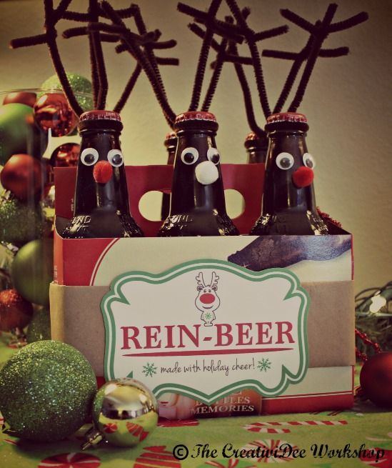 Rein-Beer Labels - Free Printable -   The CreativiDee Workshop