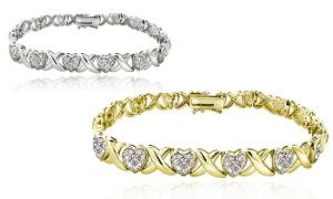 Groupon - 1.00 CTTW Diamond Bracelet in [missing {{location}} value]. Groupon deal price: C$89.99