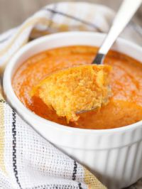 Sweet Potato Souffle made with SPCA Certified eggs. Click for the recipe. More ethical recipes at spca.bc.ca/recipes