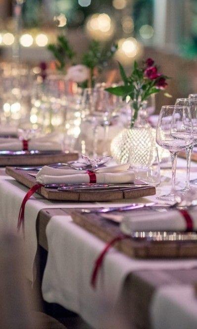 aa308b5d3718 Mise en place di nozze con il rosso per un matrimonio natalizio Gilberti  Ricca Fotografi