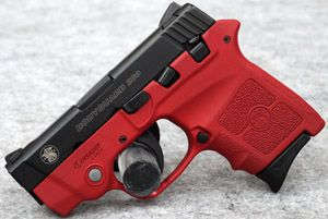 Smith & Wesson BodyGuard 380 Red Blaze Edition 380 ACP Pistol, Laser $500 Special Order