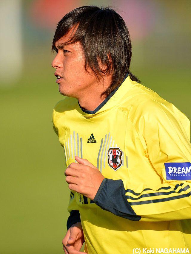 日本代表 MF 遠藤保仁 (G大阪) 2013.10.09 欧州遠征