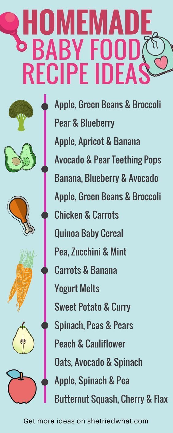 Homemade baby food recipes with save you SO much money and keep your baby health…  – get a BABY