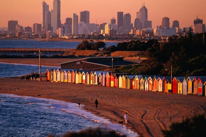 Brighton Beach, Australia.