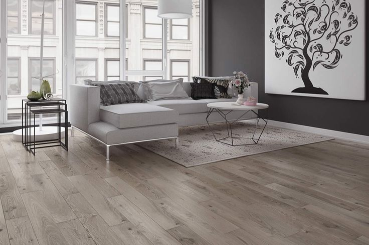Barlinek Oak St Kitts (Oahu) is an engineered plank floor with a grey brushed matt lacquer finish, offering a touch of classic elegance and unsurpassed beauty to any space.