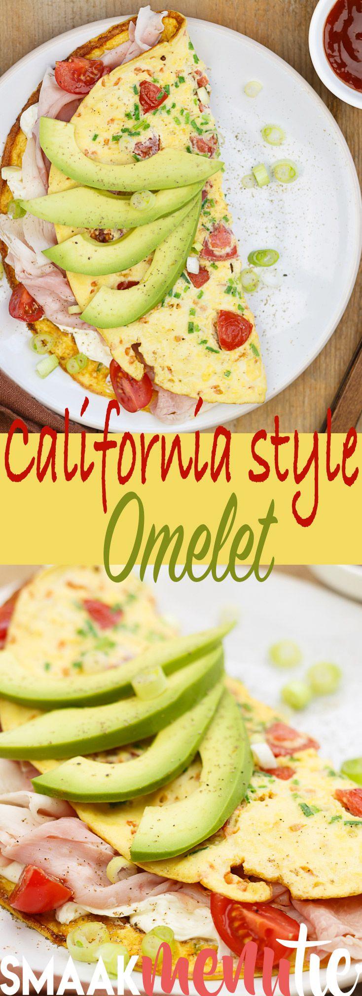 California style omelet #recept #recipes #brunch #lunch #omelet