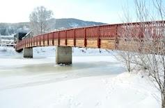 Sølfast pedestrian bridge