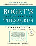 "You'd think a self-described ""professional writer"" would have a better handle on Roget's Thesaurus... #writing #thesaurus Roget http://amzn.to/2dhHcuA"