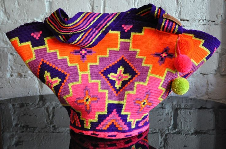 Shoulder Bags – BUCKET / TOTE BAG WAYUU – a unique product by luloplanet on DaWanda