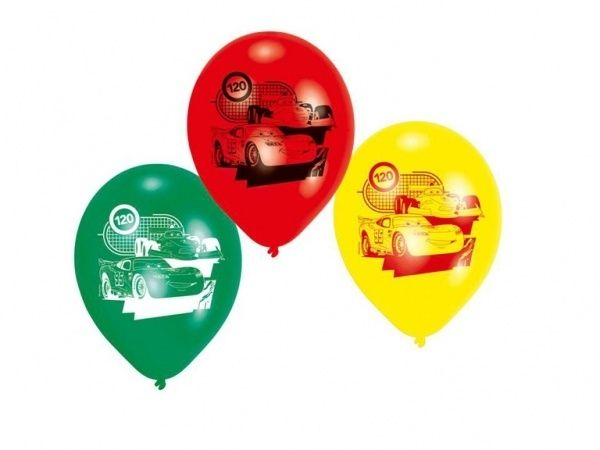 Disney Cars ballonnen 6 stuks