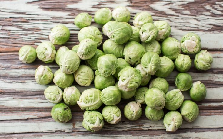 Organic Baby Brussels Sprouts 1,5kg