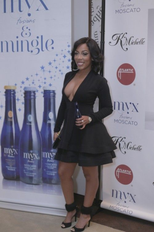 K michelle black dress 14