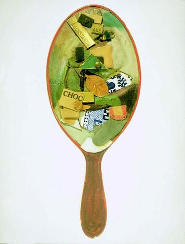 Kurt Schwitters-miroir collage