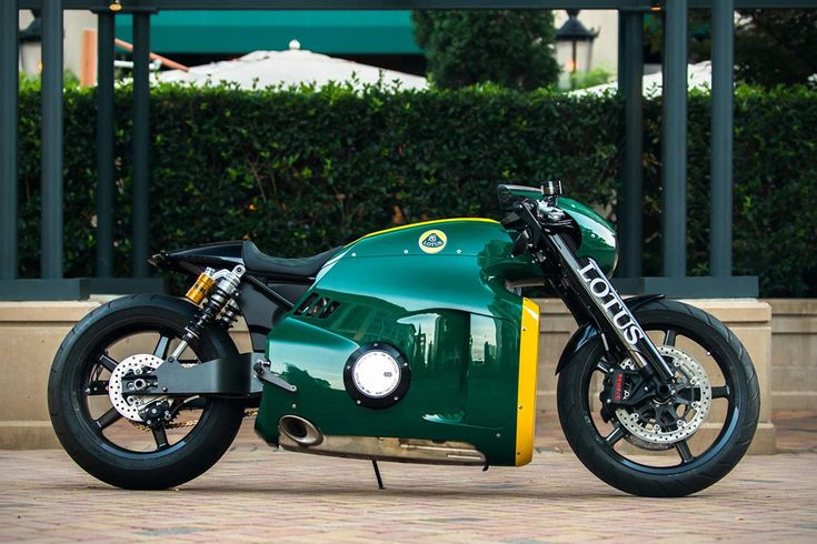 Auction: 2014 Lotus C-01 Motorcycle