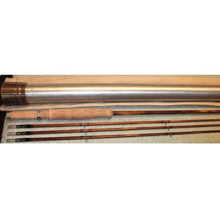 Per Brandin Quad ~ 7.9' ~ 2/3 (yes, 3 tips!)~ 4.2oz. ~ 4wt. Serial No 754P ~ EXC+ (exception noted) ~ Rods from Mr. Brandin need little introduction. His fine lineup of high quality rods have been highly sought after for decades and is unsurpassed in quality and performance. As soon as you remove the rod from the tube, you'll immediately notice the attention to detail and the mature hand used to build it.